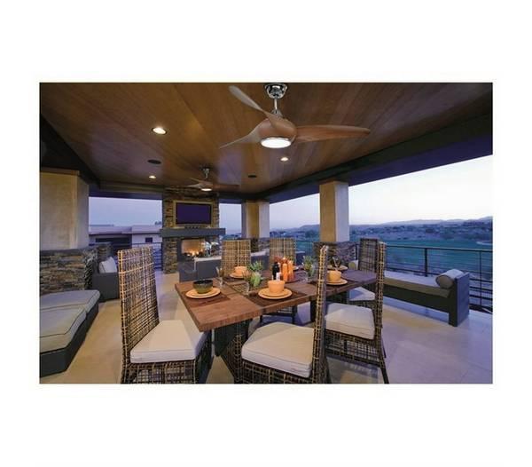 deckenventilatoren mit beleuchtung cefiro led 1x18w 3000k. Black Bedroom Furniture Sets. Home Design Ideas