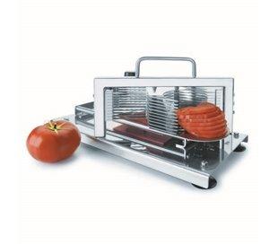 Maschine Schneidt Tomaten...