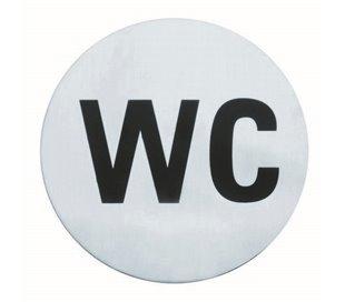 Signal Wc 7,5 Cm Inox  -...