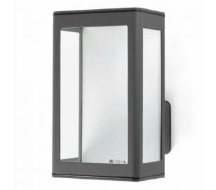 Wandleuchte LED aus Aluminiumdruckguss, dunkelgrau - MARE