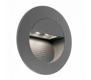 LED Einbauleuchte Aluminiumdruckguss, dunkelgrau - MINI-CARTER