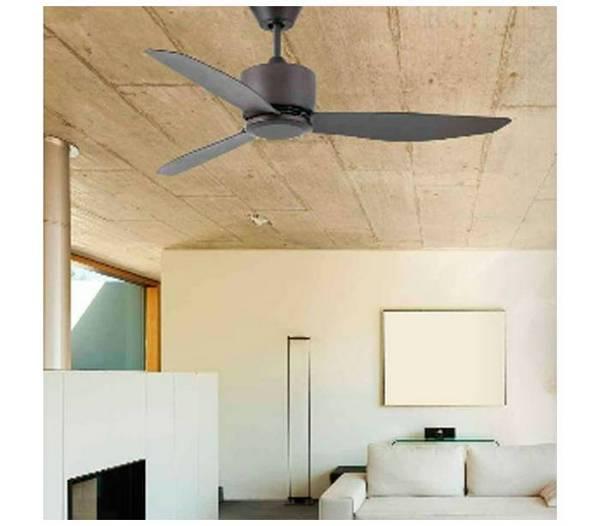 deckenventilator dunkelbraun mit fernbedienung sefiro. Black Bedroom Furniture Sets. Home Design Ideas